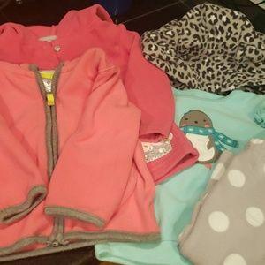 6-9 month colder weather fleece bundle
